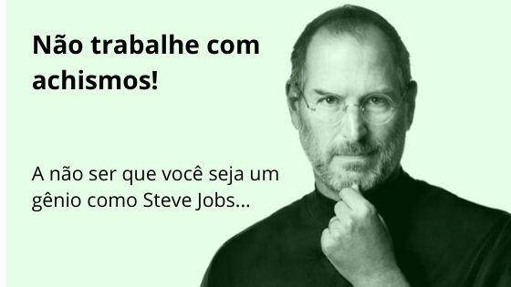 Pesquisa de persona: Faça, porque você não é Steve Jobs